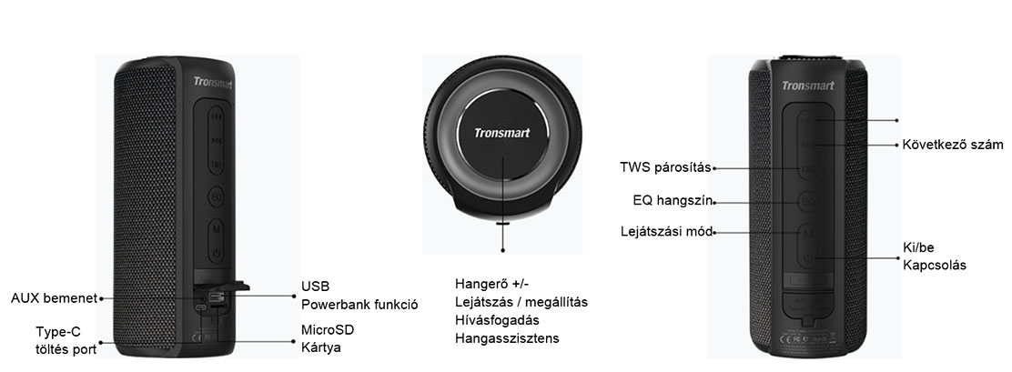 tronsmart element t6 plus soundpulse t15